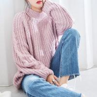 pastel color loose knit[4345C]